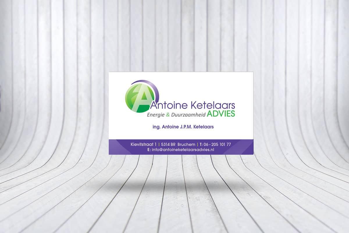 Visitekaartje Antoine Ketelaars