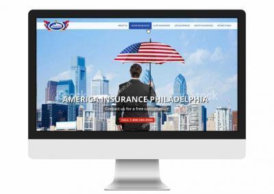 Webdesign America Insurrance