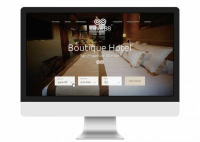 Webdesign Hotel Casa